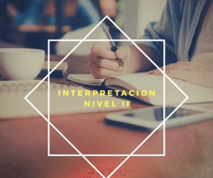 Curso Interpretación II avanzado: núcleos energéticos